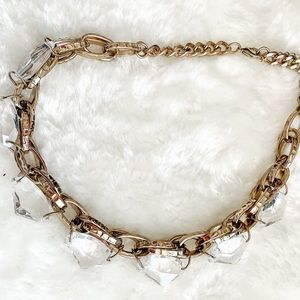3/15 Deal!White stone necklace